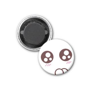 Cute & tiny kawaii kitty emoji magnet