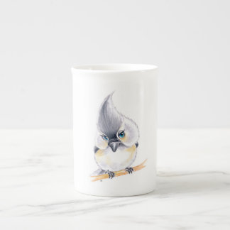 Cute Titmouse Art Tea Cup