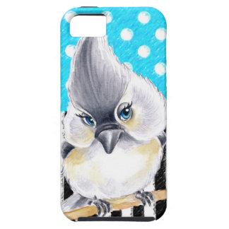 Cute Titmouse Polka Dot iPhone 5 Cases