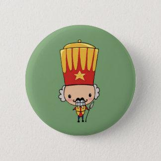 Cute to nutcracker 6 cm round badge
