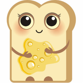 Cute Toasties - Honey Photo Sculpture Magnet
