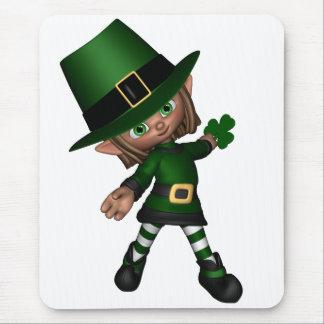Cute Toon Irish Leprechaun - 2 Mouse Pad