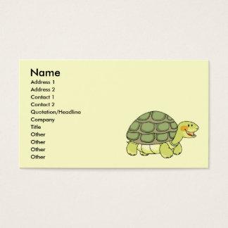 Cute tortoise business card