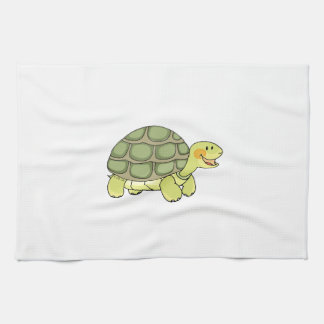Cute tortoise hand towel