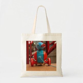 Cute Toy Duck Tote Bag
