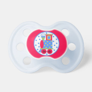 Cute Toy Train Engine Baby Pacifier