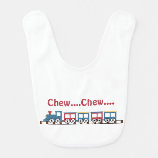 Cute Train Baby Bib