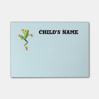 Cute Tree Frog Post-it Notes