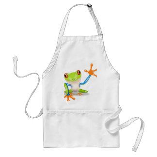 Cute Tree Frog Standard Apron