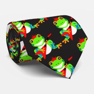 Cute Tree Frogs Tie