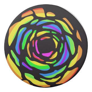 Cute trendy designed round eraser