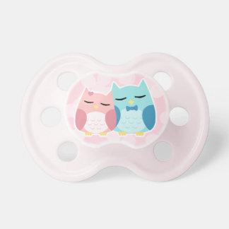 Cute trendy owl couple dummy