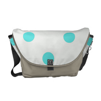 Cute Trendy Polka Dots Courier Bags