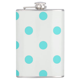 Cute Trendy Polka Dots Flask