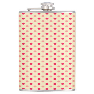 Cute Trendy  Polka Dots Hip Flask
