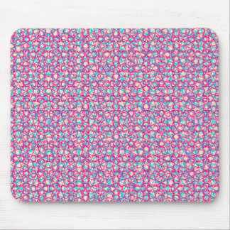 Cute Trendy Scribble Bows Mousepad