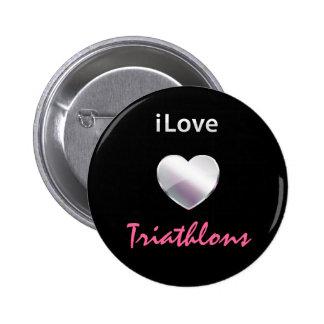 Cute Triathlon Pin
