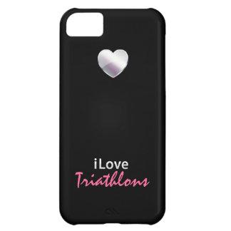 Cute Triathlon Case For iPhone 5C