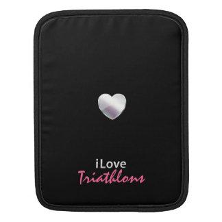 Cute Triathlon iPad Sleeves