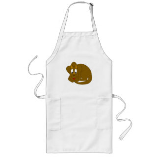 Cute Triceratops Long Apron