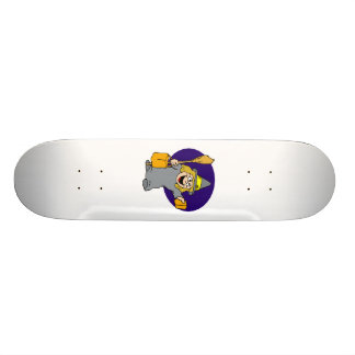 Cute Trick or Treat Witch Skate Decks