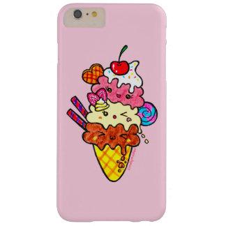 Cute Triple Scoop Neapolitan Ice Cream Barely There iPhone 6 Plus Case