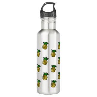 Cute Tropical Summer Fruits Pineapples Pattern 710 Ml Water Bottle