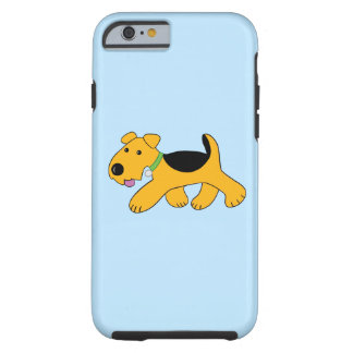 Cute Trotting Terrier Dog Tough iPhone 6/6s Case