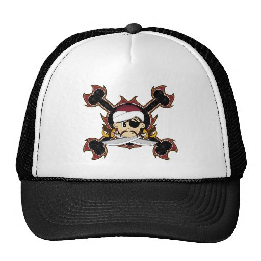 Cute Turban Pirate Cap Trucker Hats