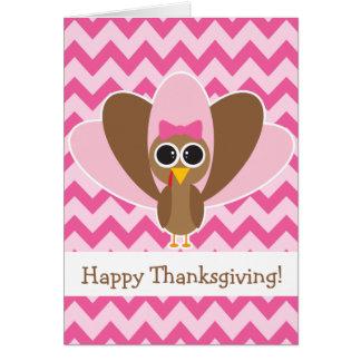 Cute Turkey Card