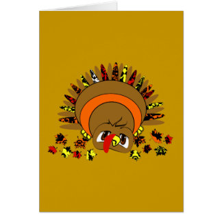Cute Turkey Card