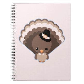 Cute Turkey Thanksgiving Day Journal