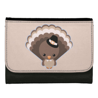 Cute Turkey Thanksgiving Day Wallet
