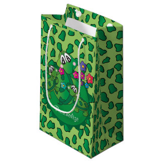 Cute Turtle Baby Shower Theme Small Gift Bag
