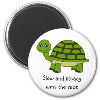 Cute Turtle Cartoon Magnet