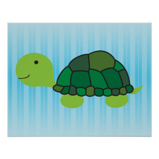 Cute Turtle Posters