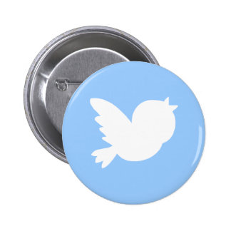 Cute Tweets 6 Cm Round Badge