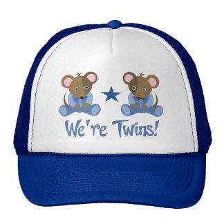 Cute Twin Boy Mice Gift Cap