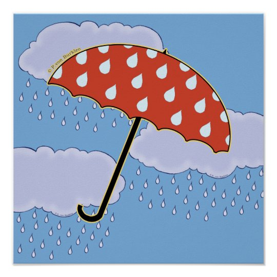 Cute Umbrella Posters
