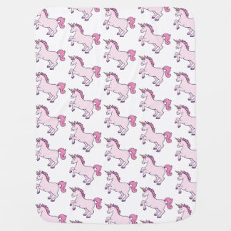 Cute Unicorn Baby Blanket