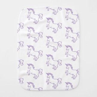 Cute Unicorn Burp Cloth