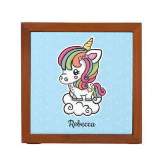 Cute Unicorn desk organizer