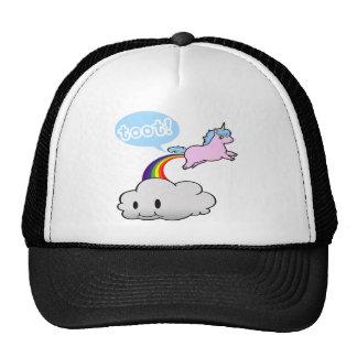 Cute! Unicorn Fart... Toot! Cap