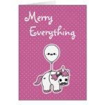 Cute Unicorn Holiday Cards