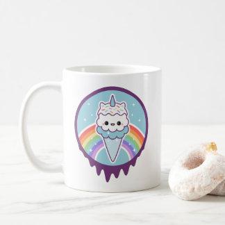 Cute Unicorn Ice Cream Cone Coffee Mug