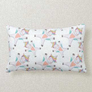 Cute Unicorn Lumbar Cushion