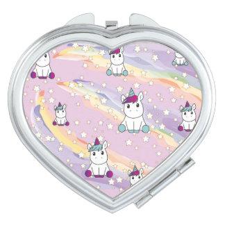 Cute unicorn mirror mirrors for makeup