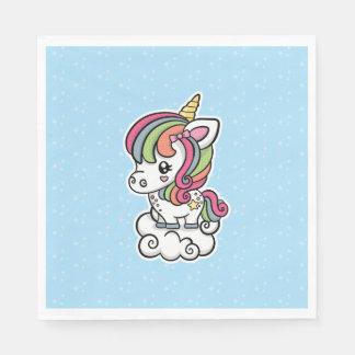 Cute Unicorn paper napkins Disposable Serviette