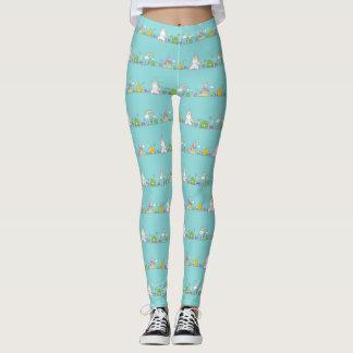 Cute unicorn pattern put-went leggings