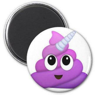 Cute Unicorn Poop emoji Magnet